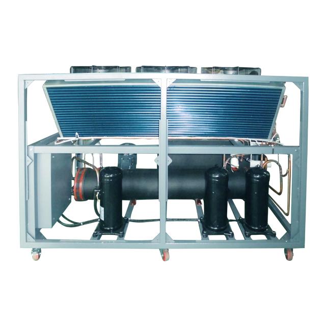 风冷式冷水机内构