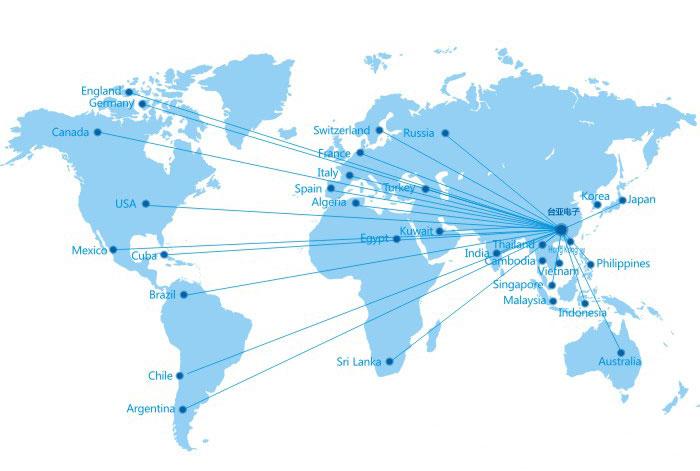 台亚制冷全球市场