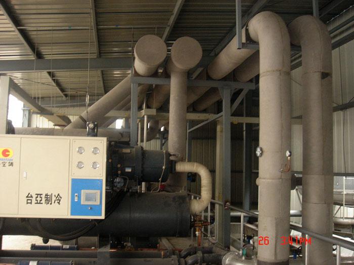 低温螺杆式冷水机工程案例
